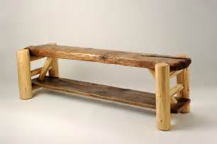 rustic furniture portfolio rustic indoor benches other metro by rory s rustic furniture