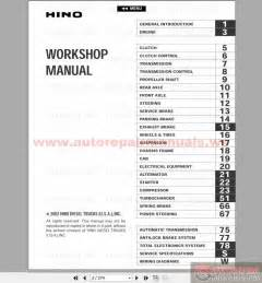 2002 Hino Wiring Diagram Keygen Autorepairmanuals Ws Hino Fd Fe Ff Sg Engine