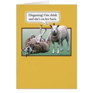 Sheep Birthday Card Funny Sheep Gifts On Zazzle