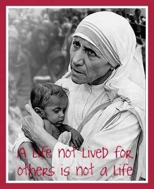 biography of mahatma gandhi and mother teresa mother teresa quotes on fear quotesgram