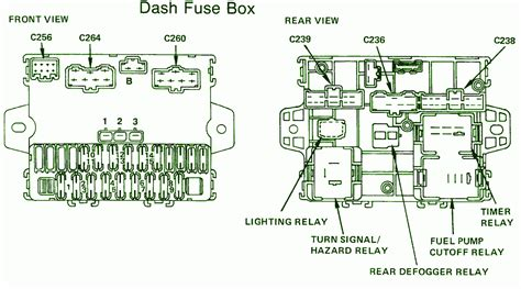 1987 honda accord lx fuse box diagram circuit wiring diagrams
