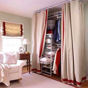 bedroom closet curtains creativacale 10 diy organizers for clothes ideas for