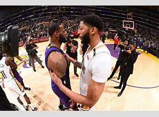 LeBron James e Anthony Davis teriam se encontrado após ... Lakers Roster