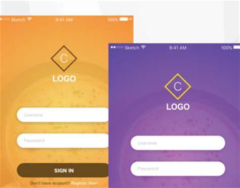 login screen templates essential principles of responsive web design