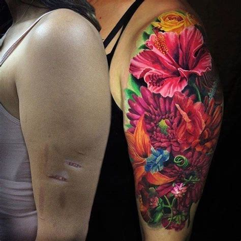 arm tattoo cover up arm scar cover up www pixshark images