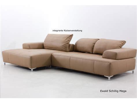 ewald schillig ewald schillig mega ecksofa sofa 2 sitzer clubchair