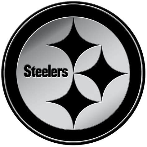 Country Plates Home Decor by Pittsburgh Steelers 3d Chrome Auto Emblem Rico