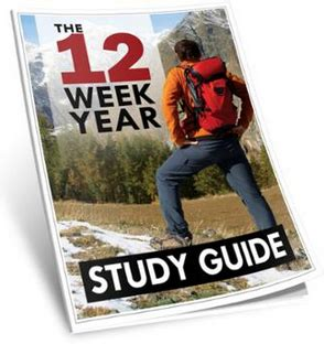 Study My Experience With Guides by Experience The Power Of Creating Your Own 12 Week Year