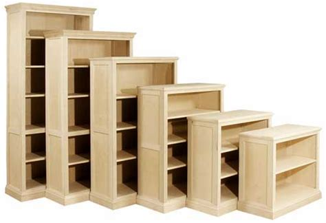 unfinished wood furniture bookcases quality wood furniture unfinished bookcases leesville
