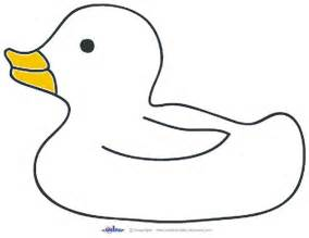 Duck Outline Printable by Rubber Duck Template Clipart Clipart Suggest