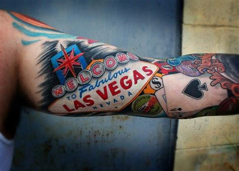 vegas tattoos las vegas sign ideas piercings