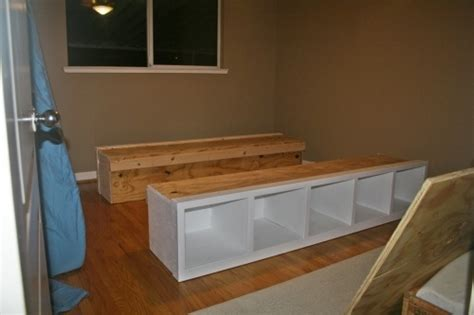 Build My Own Bed Frame Diy Platform Bed Frame This May Solve All Of My Bedroom Storage Woes Do It
