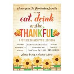 thanksgiving potluck invitation templates gallery for gt potluck lunch invitation