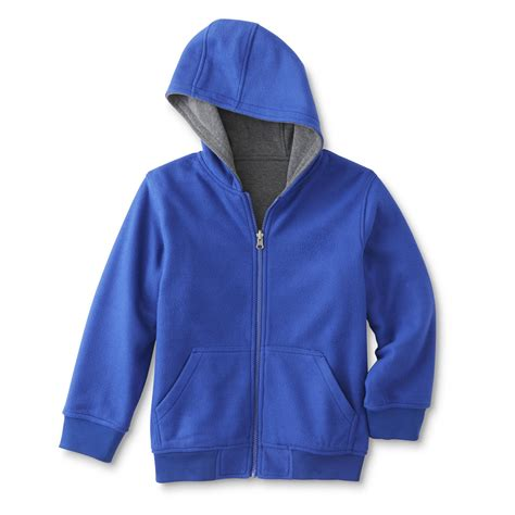 Parka Basic Hoodie basic editions boy s reversible hoodie jacket shop your way shopping earn points on