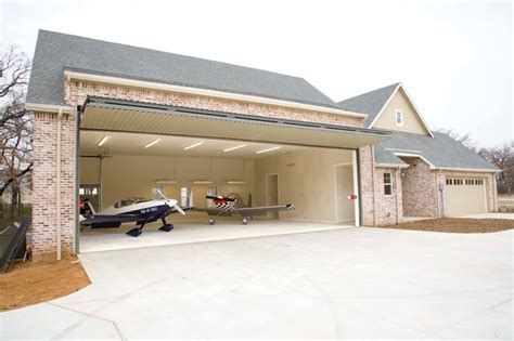Airplane Garage airplane house craftsman garage and shed dallas by