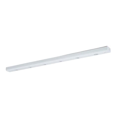 led cabinet lighting strips shop amax lighting 30 in hardwired in cabinet