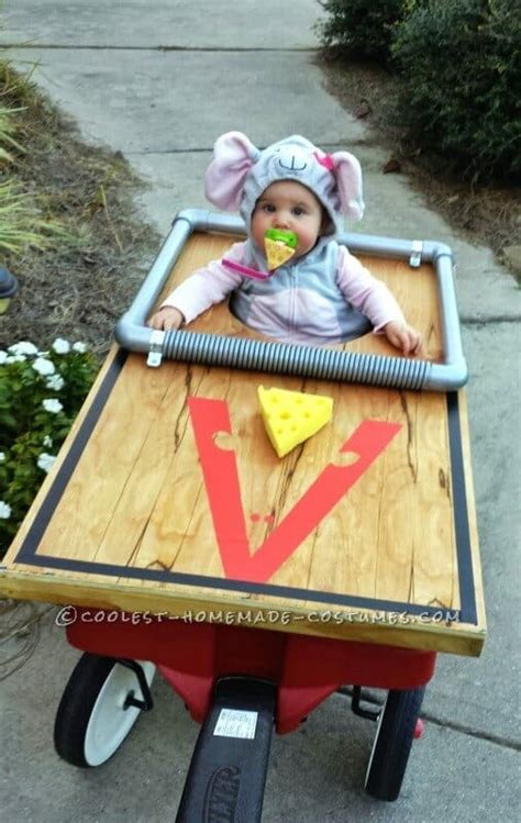 In Handmade Costume - awesome baby stroller costumes princess