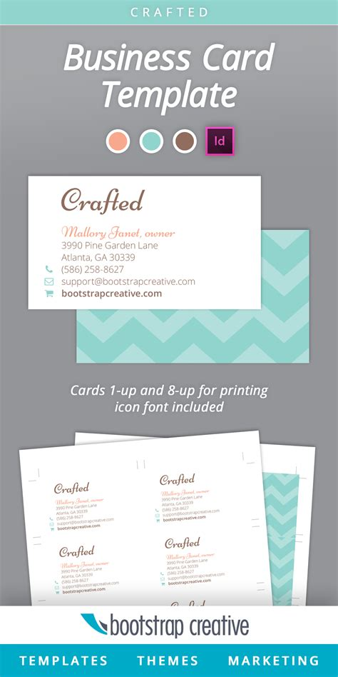 business card template indesign business card indesign template business card sle