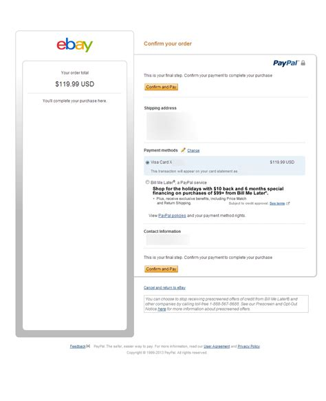ebay and paypal how not to decline a transaction ebay and paypal 2013