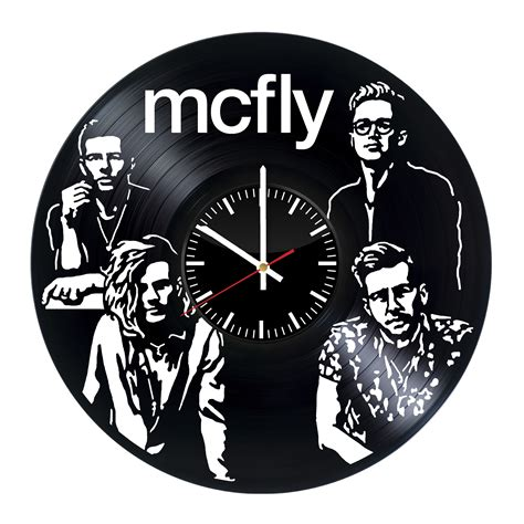 house music vinyl records for sale mcfly handmade vinyl record wall clock for pop rock fans vinyl clocks