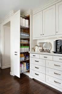 floor to ceiling kitchen cabinets pull out coffee station design ideas