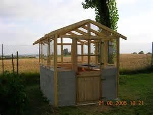 construire une serre de jardin le du bricolage