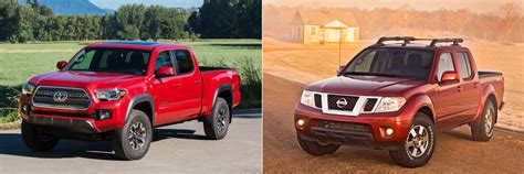 Head To Head 2016 Toyota Tacoma Trd Off Road Vs 2016