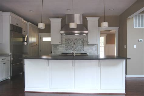 quaker custom homes contemporary kitchen dc metro