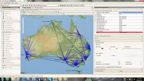 network modelling tools supply chain optimisation lexian supply chain management