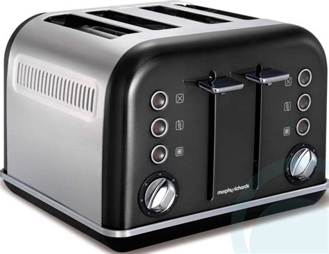 Morphy Richards Toaster Morphy Richards Graphite Accents 4 Slice Toaster 242018