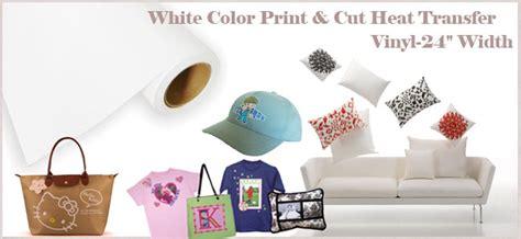 printable heat transfer vinyl roll 24 quot x 5 yard roll white color printable heat transfer