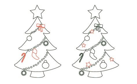 christmas tree draw new calendar template site