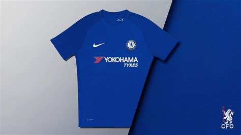 chelsea nike nike chelsea 17 18 home kit released footy headlines