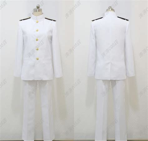 T Shirt Shimakaze Kantai Collection new kantai collection t admiral uniforms t cos customized set in anime