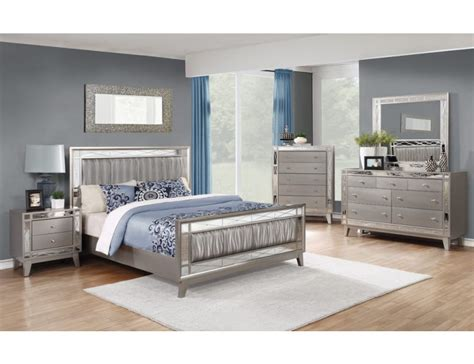 mirrored furniture bedroom sets brazia mirrored bedroom furniture