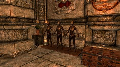 Markarth House by Markarth Refurbished Abandoned House And Altmer Follower