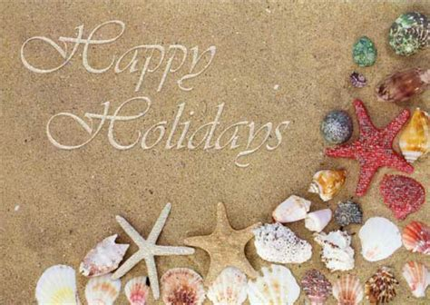 shells  starfish box   lpg tropical christmas cards  lpg  ebay
