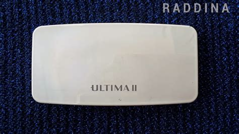 Bedak Padat Ultima Ll r a d d i n a review ultima ii clear white 2 way