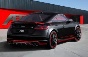 Audi Dt New Audi Tt Earns Its Abt Tuning Stripes