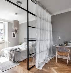 Bedroom Wall Separator 1000 Ideas About Studio Apartment Partition On Pinterest