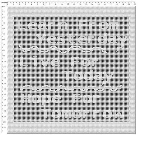 filet crochet name pattern generator pinterest the world s catalog of ideas