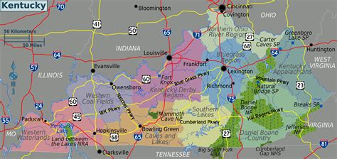 kentucky geography map file kentucky regions map png wikimedia commons