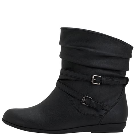 black boots payless shoes