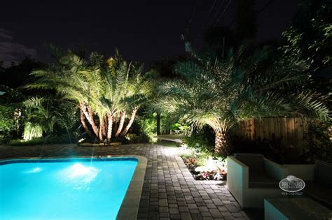 Outdoor Lighting Tropical Landscape Miami By Tropical Outdoor Lighting