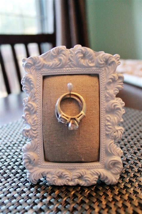 1000 ideas about ring holders on diy ring holders diy engagement ring holders and