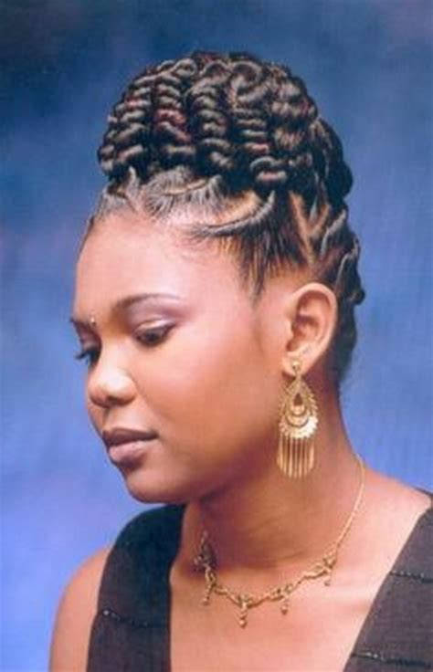 braided ponytail hairstyles for black women on pin up cornrow braids hairstyles for black women
