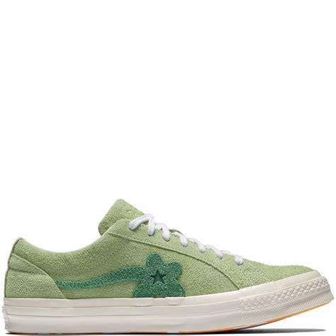 len flur converse golf le fleur jade lime mint green egret