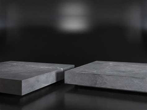marble plinth coffee table low marble plinth square coffee table 3d cgtrader