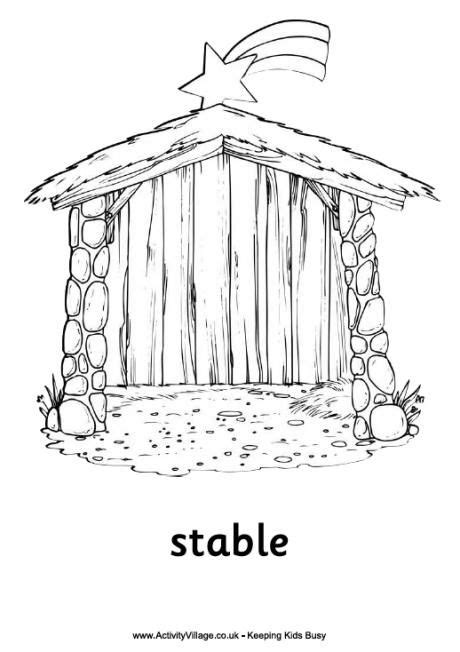 small nativity coloring page 717 best simple nativity crafts for kids images on