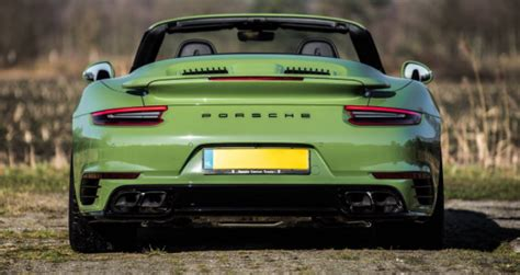 Porsche 911 Twin Turbo Specs by 2019 Porsche 911 Turbo S Cabriolet Olive Green Review